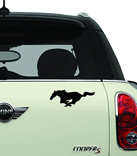 Mustang Silhouette Misc Automotive Decal/Bumper Sticker