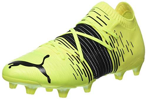 Puma Future Z 1.1 FG/AG, Chaussure de Football Homme, Yellow Alert Black White, 45 EU