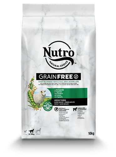 Nutro Grain Free Adulto Cordero Razas Medianas 10 kg ✅