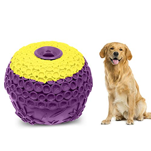 interactive dog toys FAYOGOO Interactive Dog Toys, Dog Toys for Aggressive Chewers Large Breed, Lifetime Replacement, Large Dog Chew Toys, Ultra Durable Indestructible Dog Toys for Large Dogs