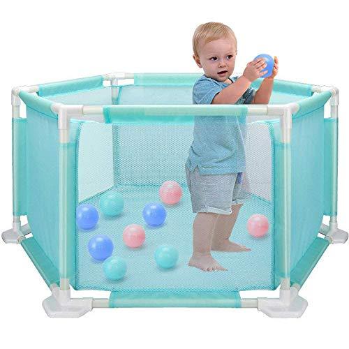 LKITYGF Rompecabezas Hexagonal Children's Playpen Fence Baby Toys - Safe Pang New Toddler - Set de Piscina de Bolas oceánicas Desmontable