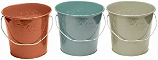 Tiki 1417040 Seaside Escape Citronella Wax Bucket Candle, Assorted, 17 Oz