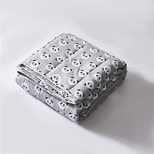 N / A Therapiedecke,für Angstzustände, Schlaflosigkeit, Stressabbau oder einfach nur den zusätzlichen Komfort! EIN Warmer Super Soft Plush Stoff,Gray,203 * 221cm-5.5kg