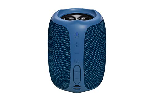 Creative Muvo Play Portable Bluetooth 5.0 Speaker, IPX7 Waterproof for Outdoors, Up to 10 Hours of Battery Life, with Siri and Voice Assistant (Blue)