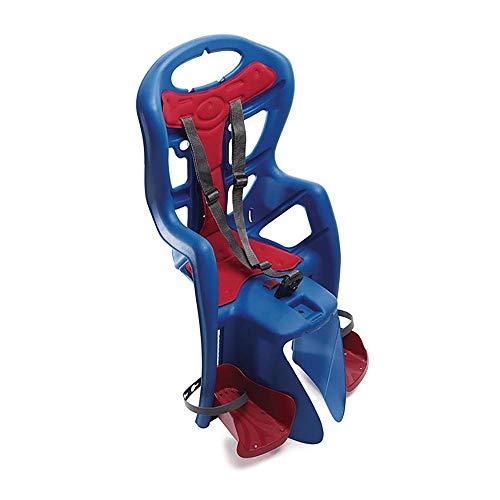 Bellelli Pepe Asiento trasero de la bicicleta trasera del niño estándar, azul