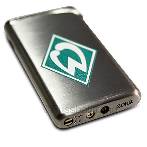SV Werder Bremen luxe - aansteker metaal - logo piëzo-ontsteking