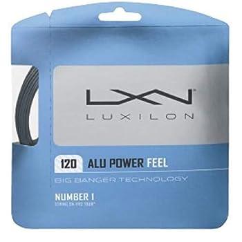 Luxilon ALU Power Feel Rough Soft Spin Tennis String Set  ALU Power Feel [6 Sets]