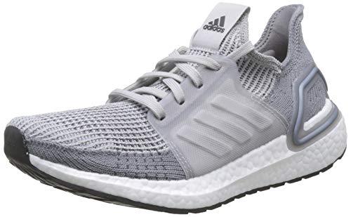 adidas Women's Ultraboost 19 W Running Shoes, Grey (Grey Three F17/Grey Two F17/Core Black Grey Three F17/Grey Two F17/Core Black), 4 UK