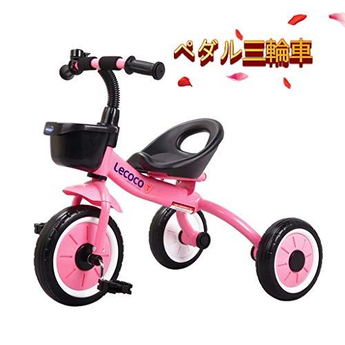 Puede ser utilizado como regalo de múltiples funciones triciclo una colorida rueda de bicicleta de cumpleaños de los niños portables del scooter de bebé forma de tres ruedas de neumáticos cochecito fo