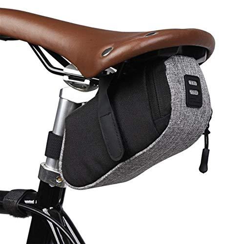 Bolsa de Bicicleta Bolsa de Ciclo al Aire Libre de Nylon Impermeable de Protable for Bicicleta Cola de Almacenamiento Bolsa de sillín Trasero Bolsa de Accesorios de la Bicicleta Bolsa de Marco