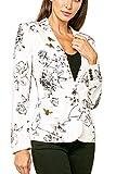 Love Token Womens Asher Floral Bee Blazer Jacket Coat in Bee Floral M - LT15-19-BFLO-M