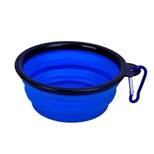 LXYU Chiens Sortent Bol d'eau Potable Animaux Accompagnant Les Tasses Bol ExtéRieur Pliant Portatif