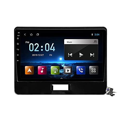 Buladala Android 11 GPS Autoradio Navigazione Stereo per Suzuki Wagon R 6 VI 2017-2021, con 9'' QLED Screen Supporto Sistemi Video/Chiamate Bluetooth 5.0/FM AM RDS DSP SWC/Carplay Android Auto,M100s