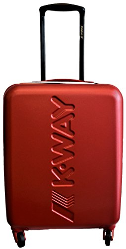 Trolley Cabina Mini Uomo Donna K-WAY K-Air Cabin Trolley K1G01-Rosso