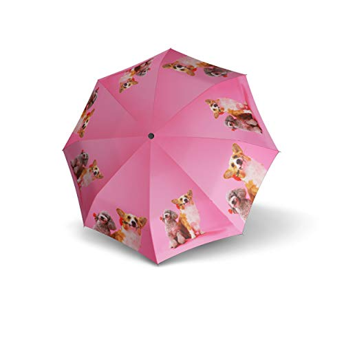 doppler ombrello per bambini Dogs Jugend Automatik - Automatico - Dogs Pink