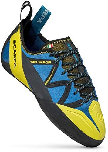 Scarpa Vapor, Men's Climbing Shoes Blue Size: 5 UK