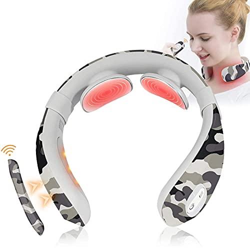 Neck Massager, Neckology Intelligent Neck Relax with Heat Cordless...