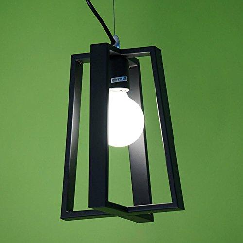 YMXJB Creative industrie Loft pendentif lumière fer lustres pastorale Cafe Bar salon luminaire, 220v