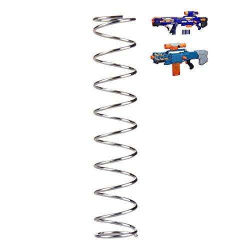 BOROK 14KG Upgrade Spring Feder Tuningfeder für Nerf Langschuss Zombie Strike ZED Squad CS-12/Nerf N-Strike Elite Longshot CS-6 Nerf N-Strike Mega BigShock