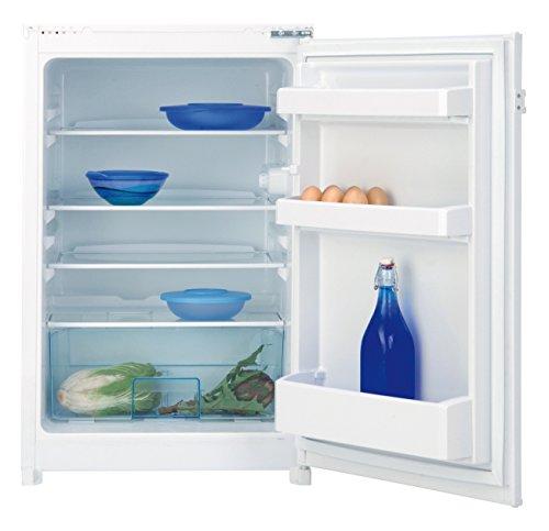 Beko Réfrigérateur B 1801 - Intégré - A+ - 120 kWh/an - Capacité utile : 126 litres - Dégivrage automatique - Revêtement antibactérien - Récipient pour fruits et légumes.