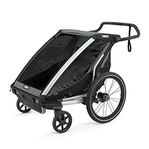 Thule Chariot Lite Multisport Trailer & Stroller, Double, Agave