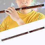 Flauta de bambú Dizi, instrumento musical chino tradicional hecho a mano con llave F, para canciones populares profesionales(Key of F)
