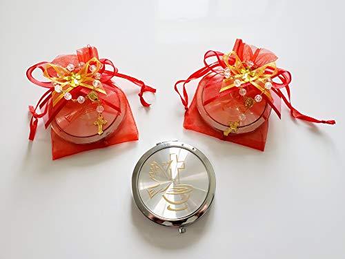 Party Supplies Confirmation Gifts. Recuerdos para confirmacion Espejos de recuerdo Pra confirmacion 12 Organzas 12 pequeenos Rosarios