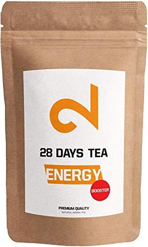 DUAL Energy - 28 Days Booster Tea| Infusión 100%