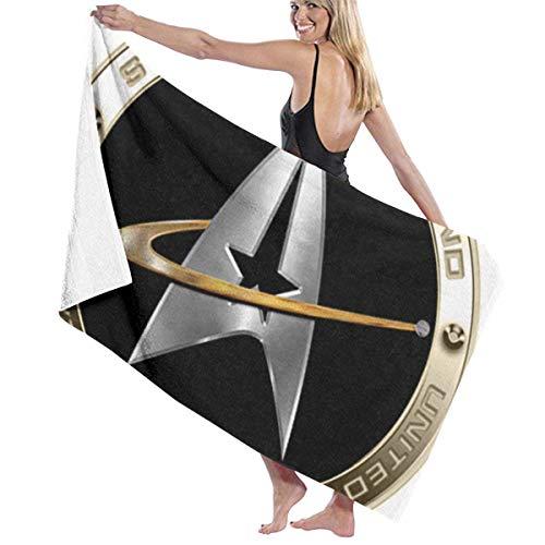 Ellassa7 - Toalla de algodón de poliéster absorbente de Walter Margaret Hittings Neva Star Trek 50 multiusos para playa, piscina, gimnasio (80 cm x 130 cm)