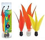 Birdies de Jazzminton, Paquete de 3 Piezas de Repuesto, Incluye la Bola LED, Gran Vuelo, Buen Despegue