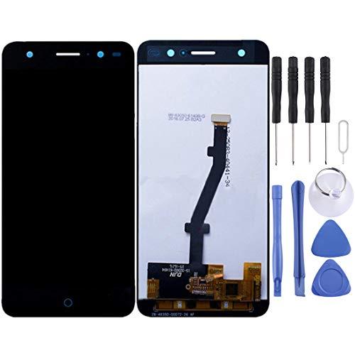 Piezas LINSHAOhui ZTE Blade V7 Lite Pantalla LCD Pantalla táctil digitalizador Asamblea (Color : Black)