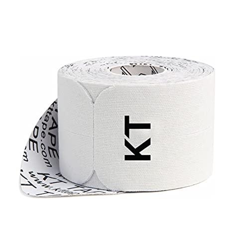 KT Tape Classic, Precut 10' Strip(20 Each), White