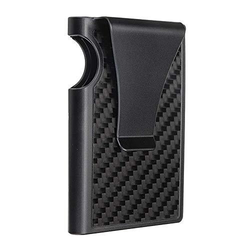 LMIAOM Kohlefaser-Flip-Kartenhalter Kreditkarteninhaber-Gadget Hardware-Zubehör DIY-Tools
