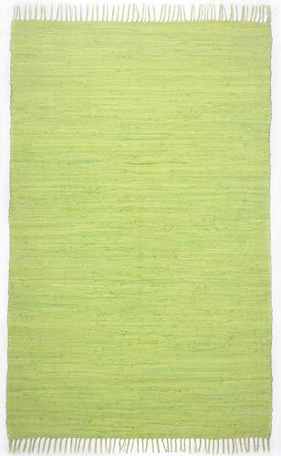 Theko Happy Cotton Teppich, 100% Baumwolle, 70x140 cm