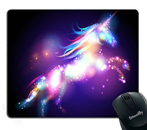 Smooffly Rainbow Unicorn Personality Desings Gaming Mouse