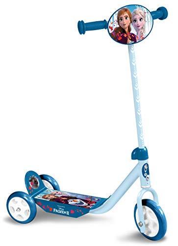 STAMP- Monopattino Frozen II a 3 ruote Frozen, Anna, Elsa, RN244050, blu