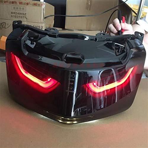 LDJ Moyorbike Luces Adicionales para Nmax 155 2016-2019 LED 12V Moto Freno Luz de Cola Lámpara Trasera Lámpara Trasera Lámpara Trasera Integrada Scooter Scooter Accesorio (Color : Option B)