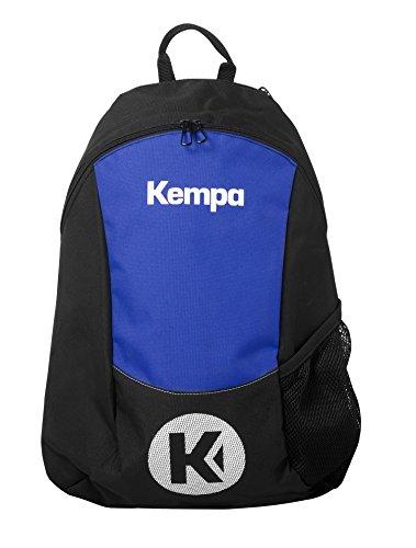 Kempa 200490604, Mochila Unisex Adulto, Negro (Negro/Azul Royal), 24x36x45 cm