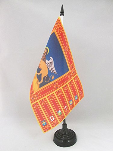 AZ FLAG TISCHFLAGGE VENEDIG 21x14cm flaggen Venezia TISCHFAHNE 14 x 21 cm