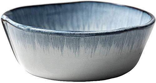 Cuenco de la cultura popular Snack-dip tazón tazón de sopa vajilla, retro creativo elegante ensaladera frutero de cerámica de pasta de plato de cocina de aperitivos tallarines de arroz de la casa coci