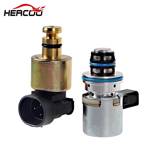 HERCOO Transmission Pressure Sensor & Governor Pressure Solenoid Kit 4617210 56041403AA A518 42RE 44RE 46RE 47RE Compatible with 1996-1999 Dodge Ram Jeep Grand Cherokee