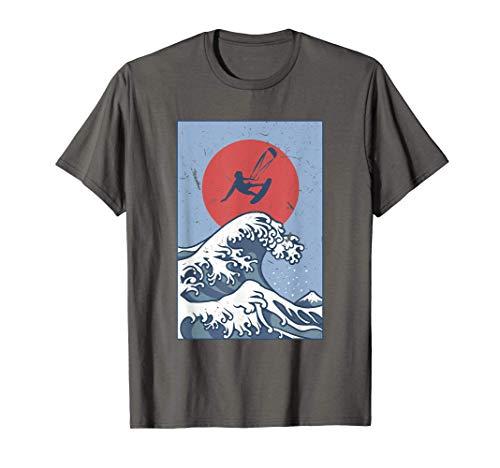 Vintage Kitesurf Kitesurf Windsurf Japon Kanagawa T-Shirt