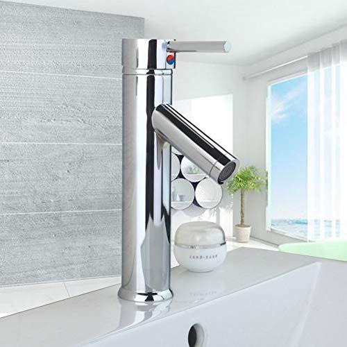 TAOZIAA roestvrij staal deck mount badkamer wastafel wastafel chroom messing eenhandvat Vanity Stream uitloop mixer waterkraan