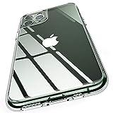 Humixx iPhone 11 Pro Hülle, HD Transparent Anti-Gelb Glas