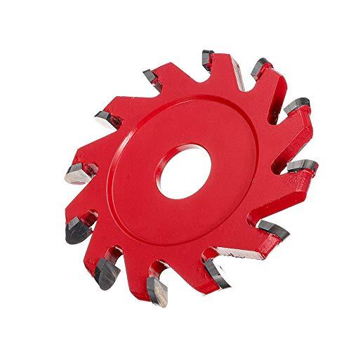 XUQIANG H20 Power Madera Pulido Discos de Talla U Tipo 12 Dientes Hoja de Pala para un Molinillo de ángulo Herramienta de molienda de carpintería Herramientas manuales de carpintería de Bricolaje