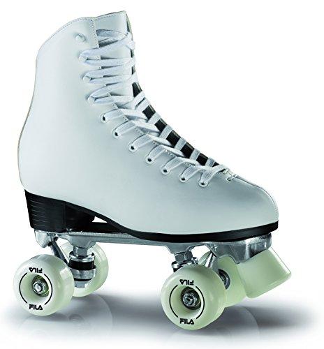 Fila Damen Skates Eve Roller Rollschuhe, Weiß, 36
