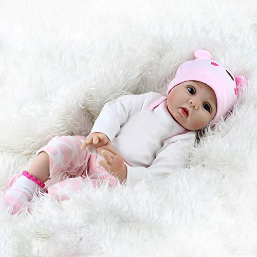 Kaydora Reborn Baby Dolls, 20 inch Lifelike Girl, Weighted Soft Body