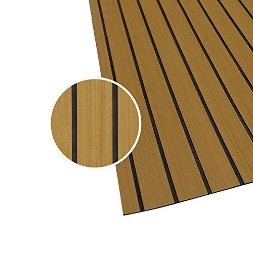 240 x 90 x 0,6 cm TABODD Tapis de Sol en Mousse EVA de pour Bateau