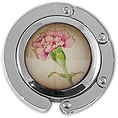 aaaAA Clavel – Flor de Mes de Nacimiento de enero – Colgador de Flores – Regalo de cumpleaños – Rosa Flor Percha Regalo para Ella