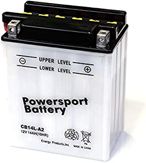 CB14L-A2 Replacement Powersport Battery YB14L-A2 YUAM2214Y